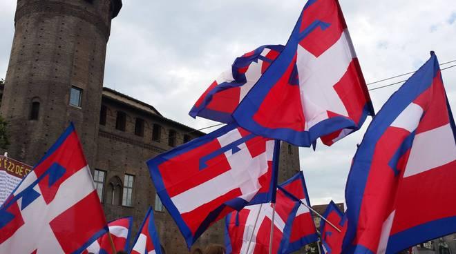 bandiera piemonte drapò