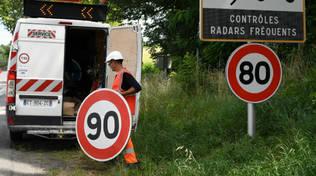 limitazione velocità 80 francia autovelox