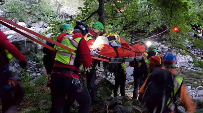 speleologo salvato grotta della mottura frabosa soprana