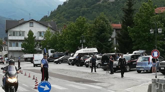 carabinieri vinadio balla coi cinghiali
