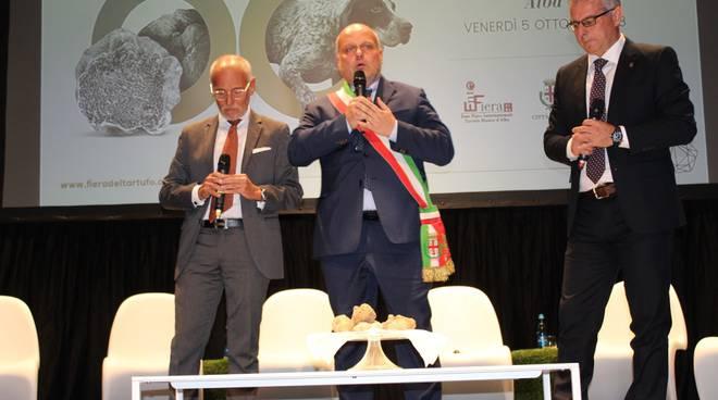 fiera tartufo 2018 inaugurazione genova norcia