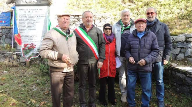 L'Anpi Cuneo a Upega e Carnino