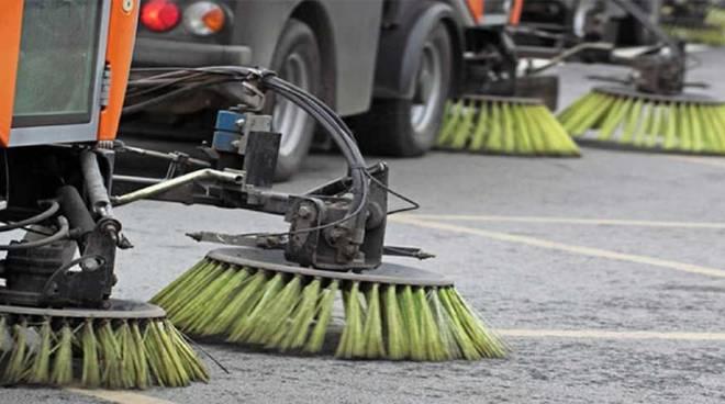 lavaggio strade pulizia