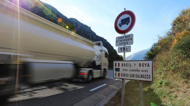 camion tir valle roya