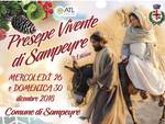 volantino presepe sampeyre 2018