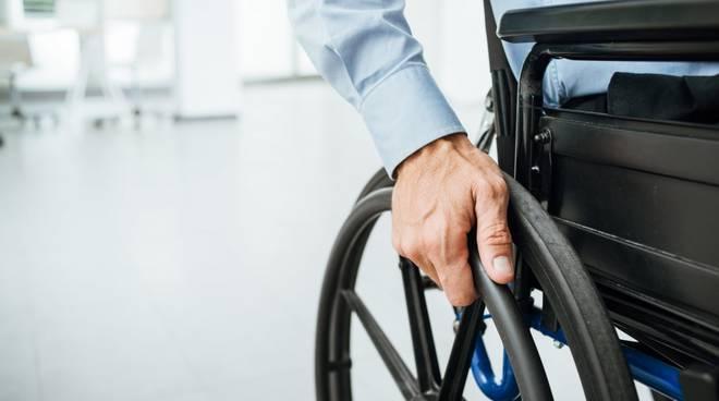 sedia a rotelle handicap