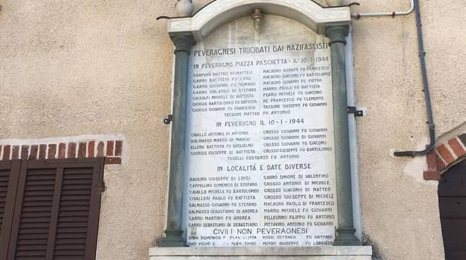 PEVERAGNO piazza xxx martiri