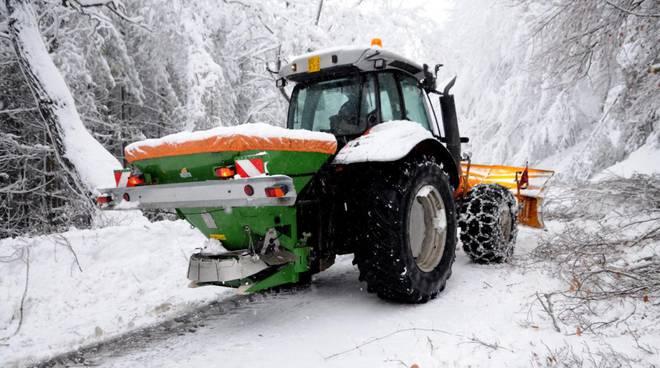 trattore neve