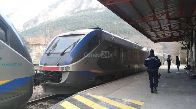 Treno Trenitalia tenda Cuneo Nizza Ventimiglia