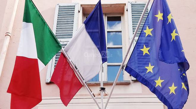 bandiera italia francia europa