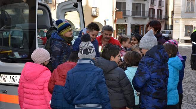 La Cri sca incontra gli studenti della IV elementare
