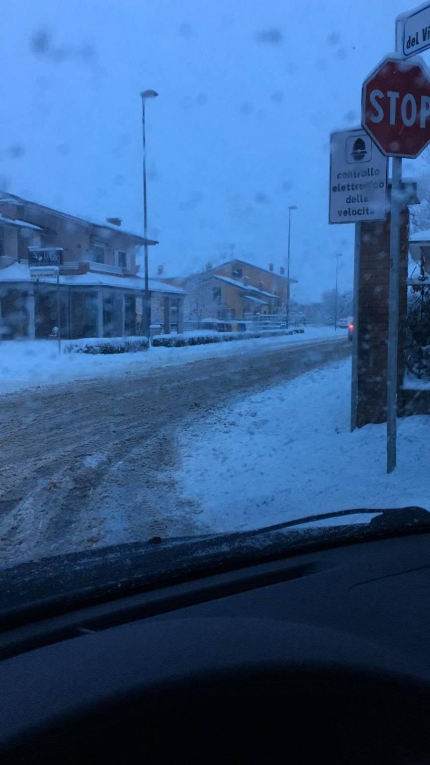 Nevicata del 1° febbraio: le foto dei lettori