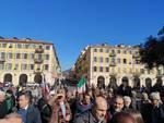 Nizza, francesi ed italiani si uniscono nel segno dell'amicizia tra popoli