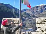 Tricolore d'Italia a Breil-sur-Roya