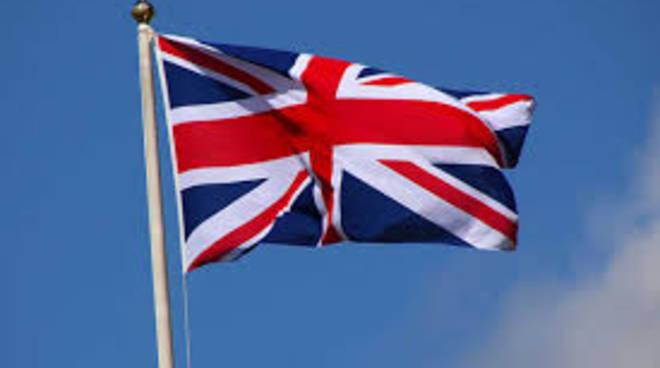 bandiera regno unito british gran bretagna
