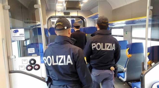 polizia treno ferroviaria polfer