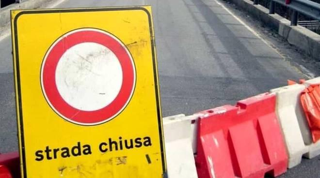 strada chiusa cantiere