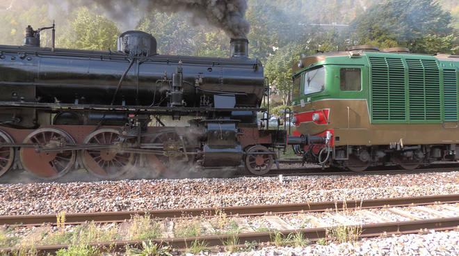 Treno storico Cuneo Ventimiglia