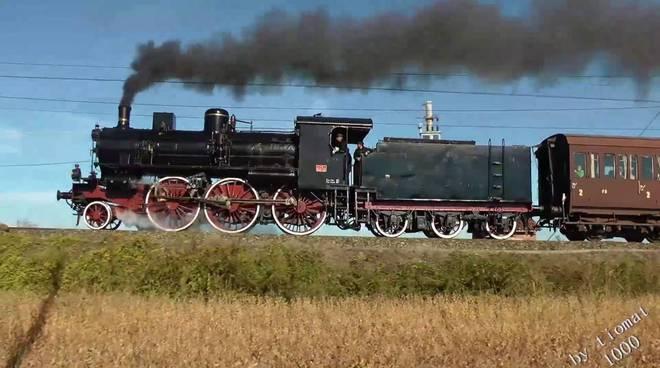 treno vapore gr640