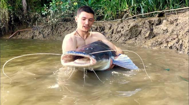 Pietro Mandrile pescatore