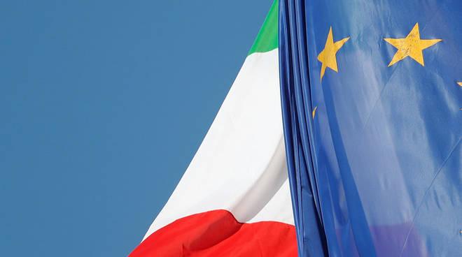 tricolore bandiera italia europa