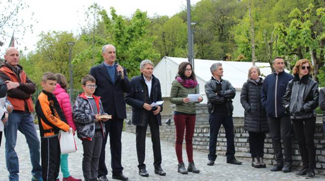 parco santuario regina pacis fontanelle boves inaugurazione