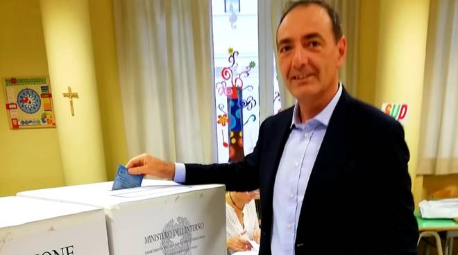 Eros Pessina al voto