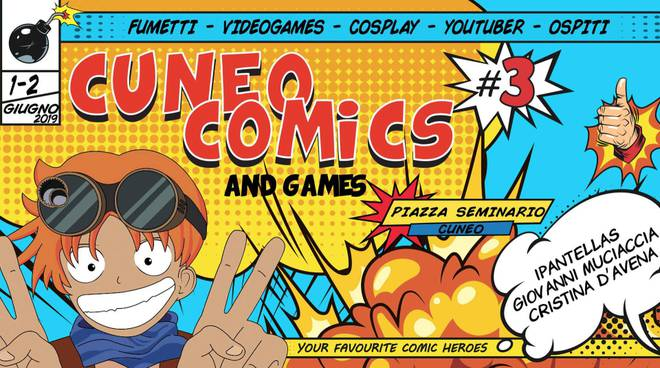 cuneo comics and games