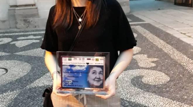 giorgia dutto lode al cielo concorso alda merini milano