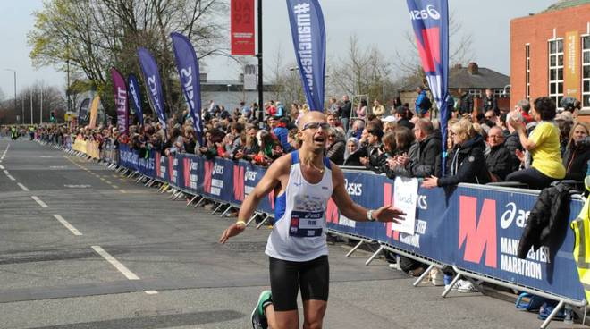 Claudio Ravera maratona