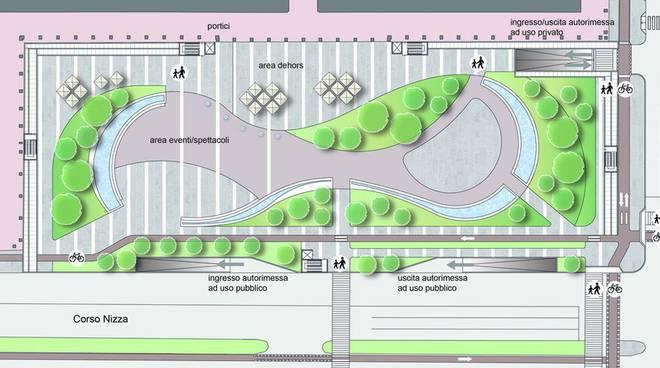 progetto parcheggio piazza europa cuneo