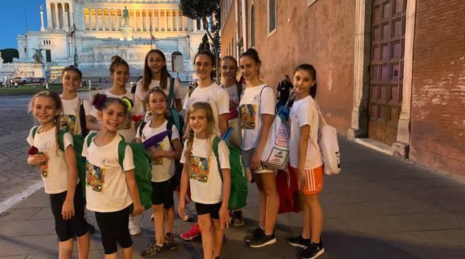 ginnastica saluzzo libertas collegiale roma estate 2019