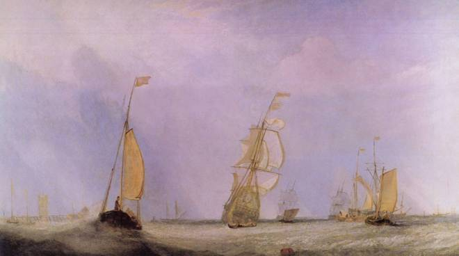 William Turner nebbia