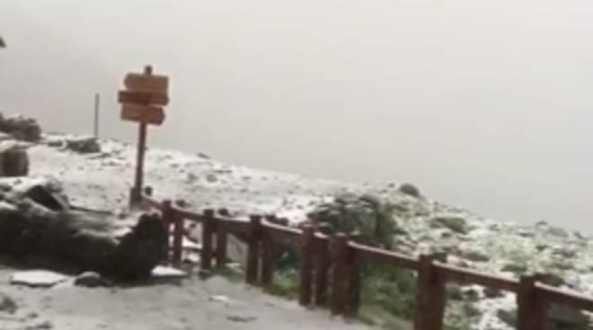 Rifugio Quintino Sella neve