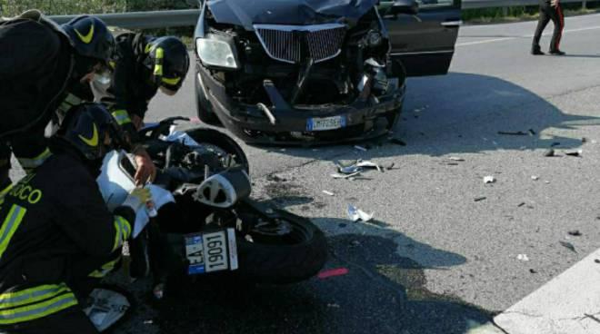 incidente stradale cupole lido cavallermaggiore