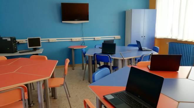 aula scuola chiusa di pesio