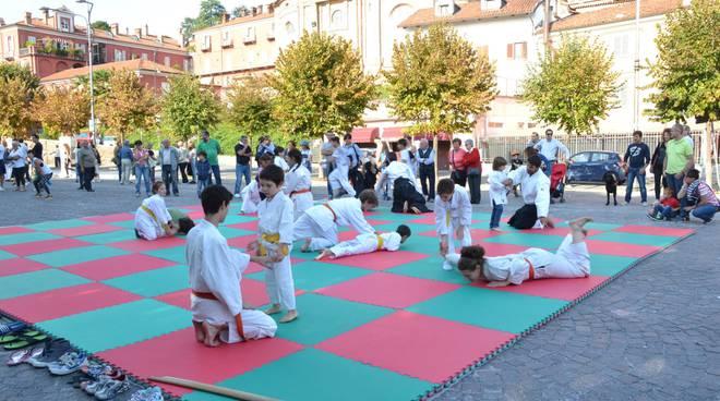 Sport in piazza Bra
