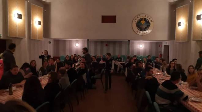 cena al buio Villafalletto