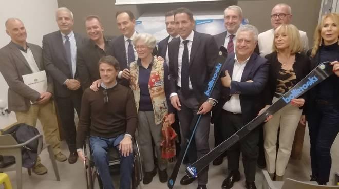 presentazione atl coppa del mondo sci paralimpico prato nevoso 2020