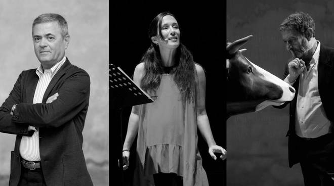 Ezio Mauro, Chiara Gamberale e Michele Serra