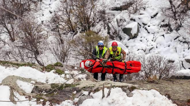 monte sbarua soccorso alpino