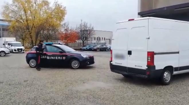 carabinieri alba sgominata banda furti appartamento