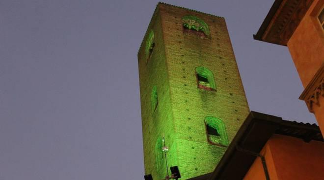 alba luci verde