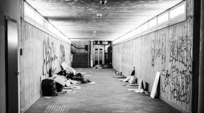 senzatetto cuneo
