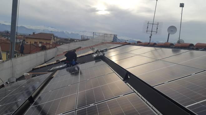 impianto fotovoltaico palazzo comunale castelletto stura