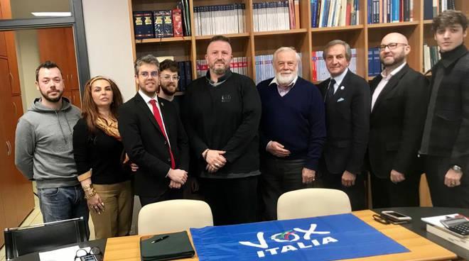 CONVEGNO PER Inaugurazione Partito VOX ITALIA con la partecipazione di DIEGO FUSARO