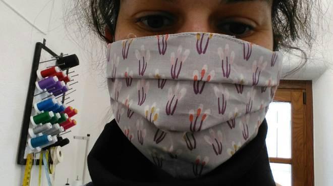 ilaria giorgis peveragno mascherina coronavirus