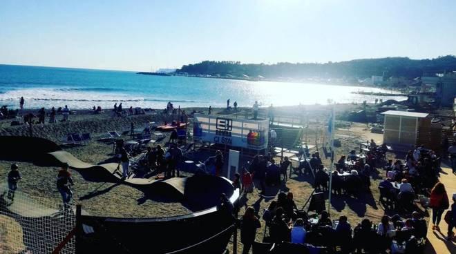spiaggia liguria coronavirus