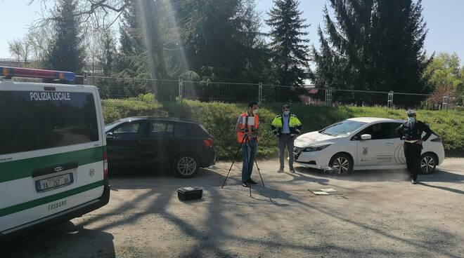 polizia municipale fossano droni pasqua 2020