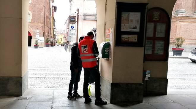 defibrillatore via roma fossano